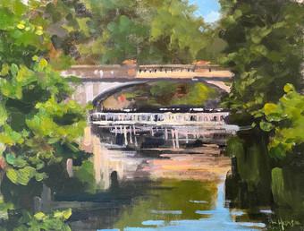 Vanderbilt Bridge in Summer