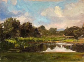 Montgomery Place Pond