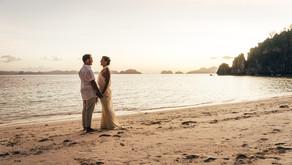4 continents pour un mariage au bord de l'eau