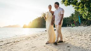 Se marier à 2 sur la plage d'une île privée