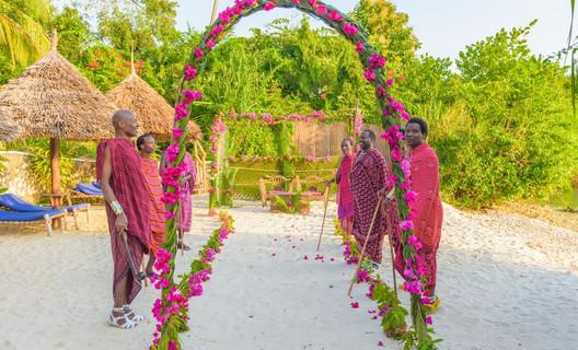 cérémonie locale Zanzibar