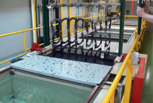 RFID-automated cataphoretic production line at TPV Group
