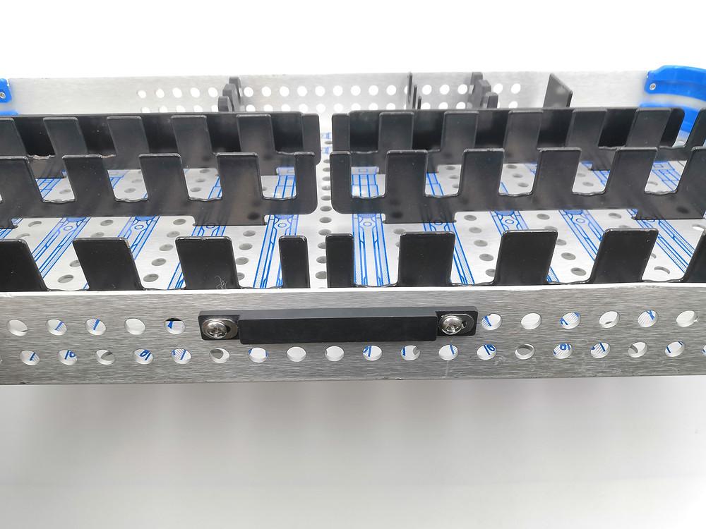 Xerafy TRAY TRAK RFID Tag on CD Horizon Spinal System 4.75 Percutaneous Tray