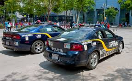 Mexico City Police Department Vehicles