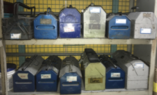 Tool boxes at HAECO