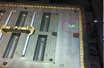 Xerafy Pico RFID tag embedded in Trakya Döküm foundry molds