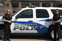 Richardson, TX Police Department Vehicle