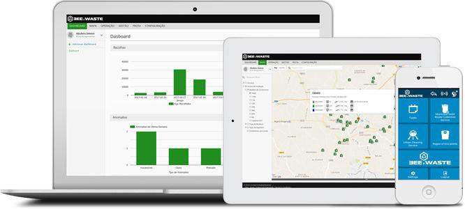 Bee2Waste Software Screenshots