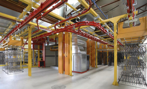 RFID-automated transport line at TPV Group