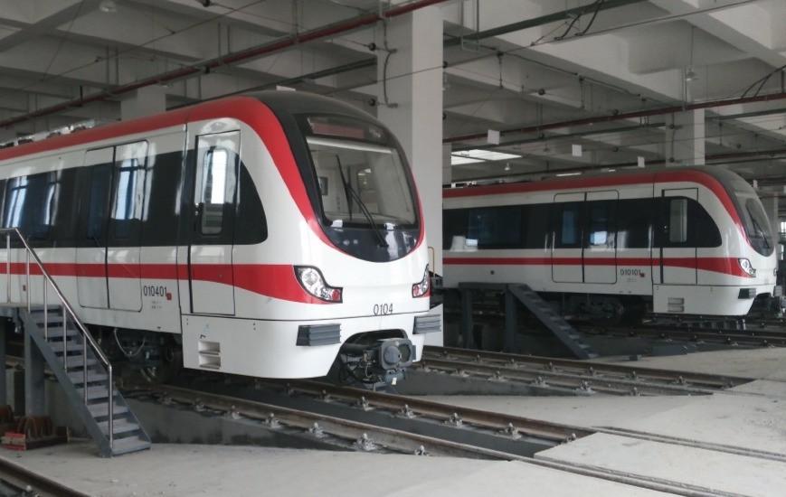 CRRC Puzhen train manufacturing site in Nanjing, China