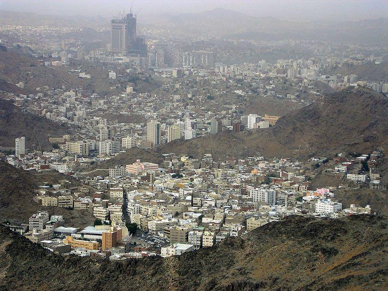 View of Mecca City (Saudi Arabia)
