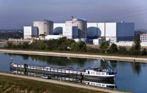 CNPE's nuclear power plant in Fessenheim, France