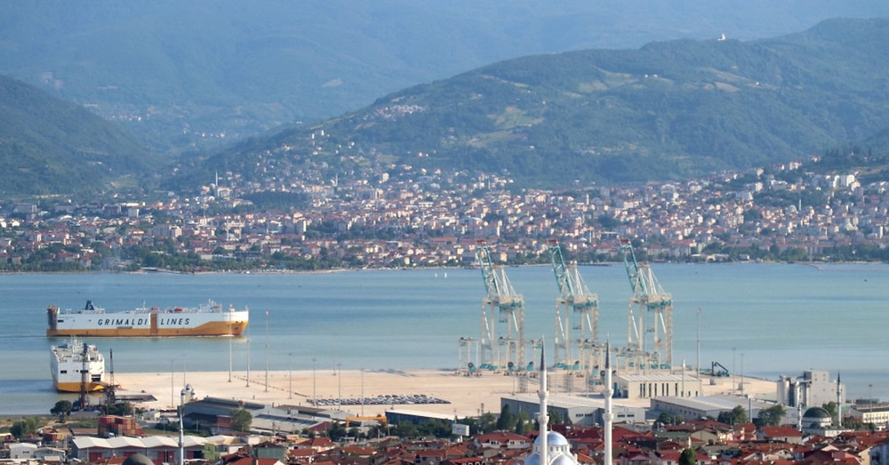 View of the City of Izmit (Turkey)
