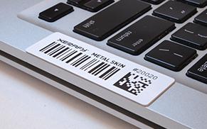 Xerafy METAL SKIN Platinum for IT Asset Tracking