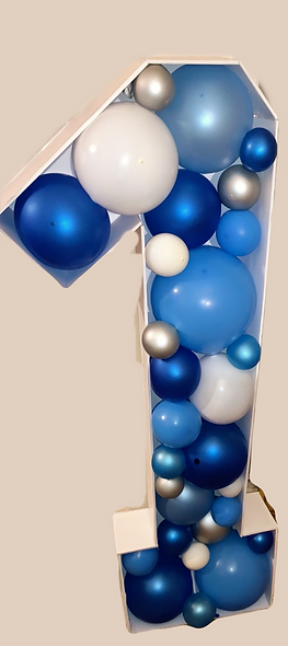 3ft Balloon Filled Number(s)