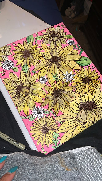 """Sunflowers"" by Jianna Bryan"