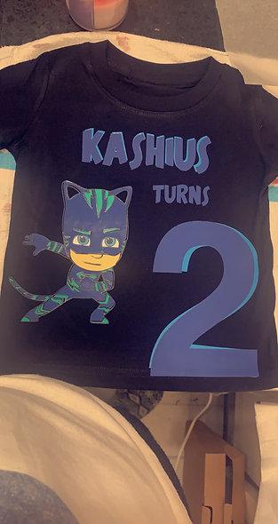Custom Kids Birthday Shirts