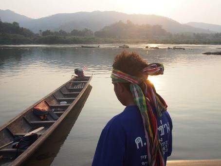 เครือข่ายประชาชนลุ่มน้ำโขงอีสาน ออกแถลงการค้านเขื่อนทุนจีนในลาว
