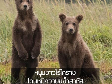 หนุ่มชาวไร่ เสิงสาง โคราช โดนหมีควายขย้ำสาหัส บอกรอดได้เพราะมันปล่อย