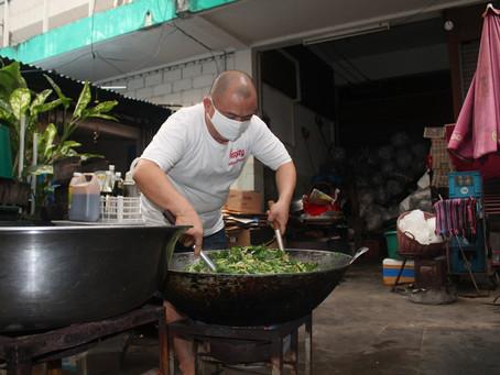 ทอดน่องเมืองอุดรฯ ส่องที่แจกอาหาร ต้านภัยโควิด