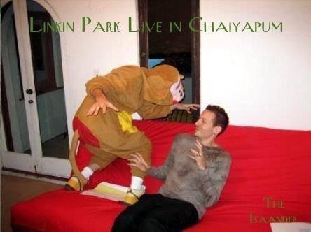 อีสานแล้งจัด จน Linkin Park! ที่เทพสถิต ชัยภูมิ .  ผู้จัดการออนไลน์ รายงานว่า อีสานแล้งจัด ฝูงลิงป่า