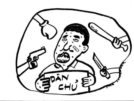 บ่มีแต่บ้านเฮา ! แอคติวิสต์เวียดนามก็โดนทำร้ายร่างกายบ่อยครั้ง
