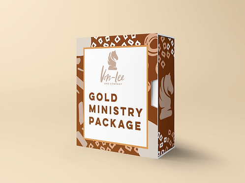 Gold Ministry Package