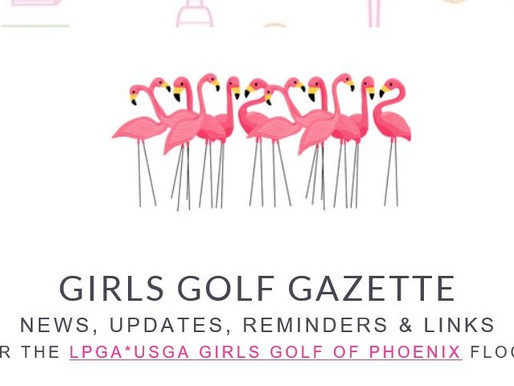 Girls Golf Gazette