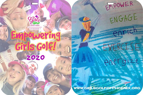 2020 Empowering Girls Golf - MEMBER {bag tag}
