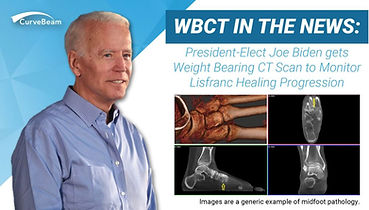 Joe Biden gets WBCT Scan to Assess his L