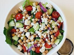 Roasted Chickpea Greek Salad i dream of pizza.jpg