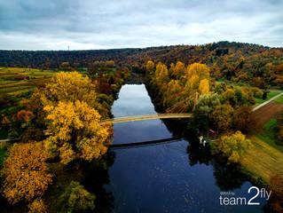 Der Neckar bei Hessigheim