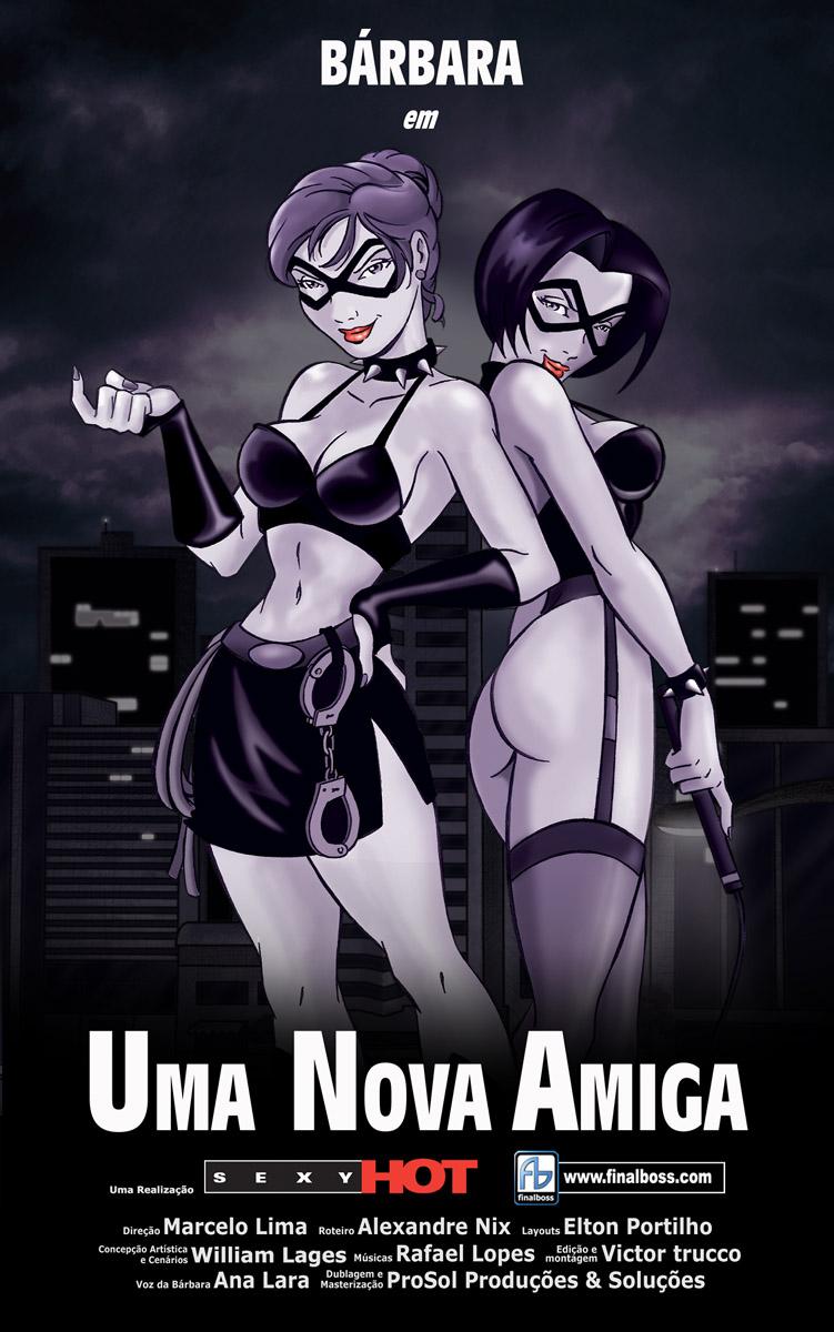 Uma Nova Amiga - Poster