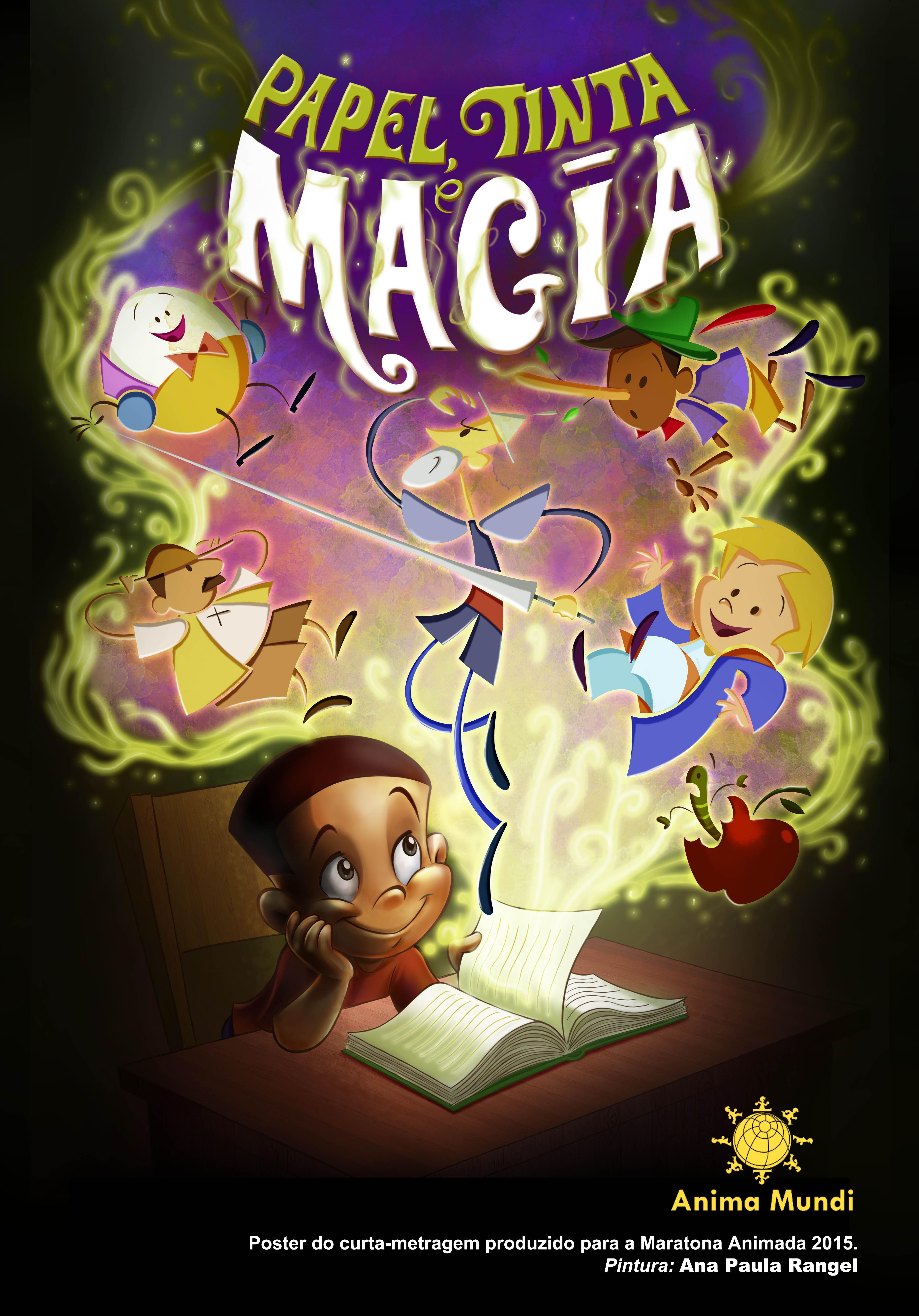 Papel Tinta e Magia