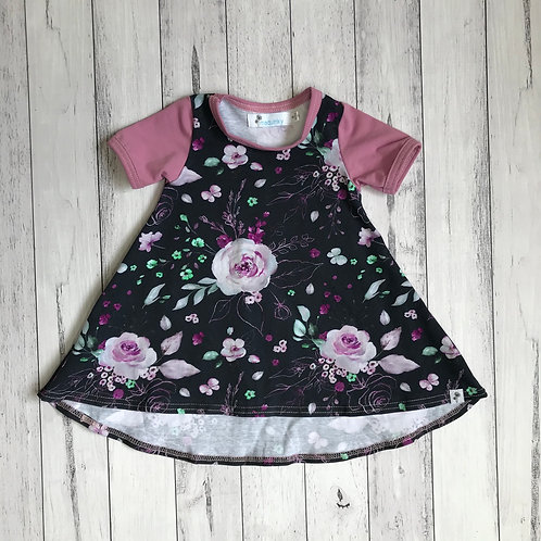 Floral Tee Dress *