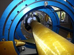 WNR Systems fibreglass pipe machine