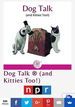 Dog Talk ® (and Kitties Too!) Archives -