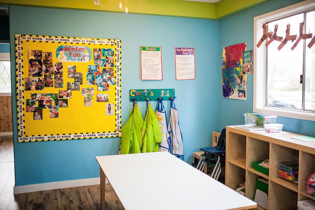 Preschool enhanced daycare room