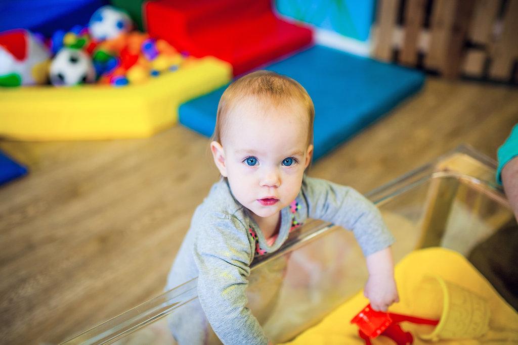 Sensory table/Infant Toddler