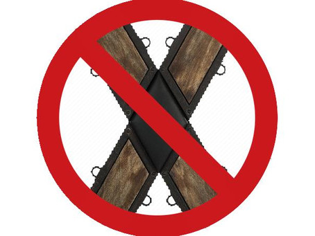 I will never own a St Andrews Cross!