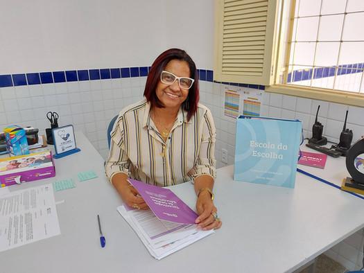 30 anos de sala de aula: conheça a história da professora Josenilda