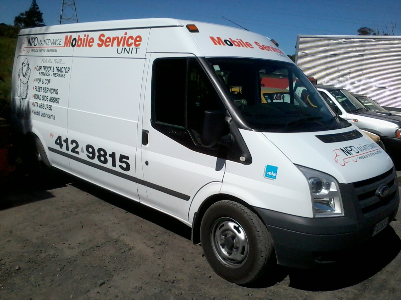 On-site servicing