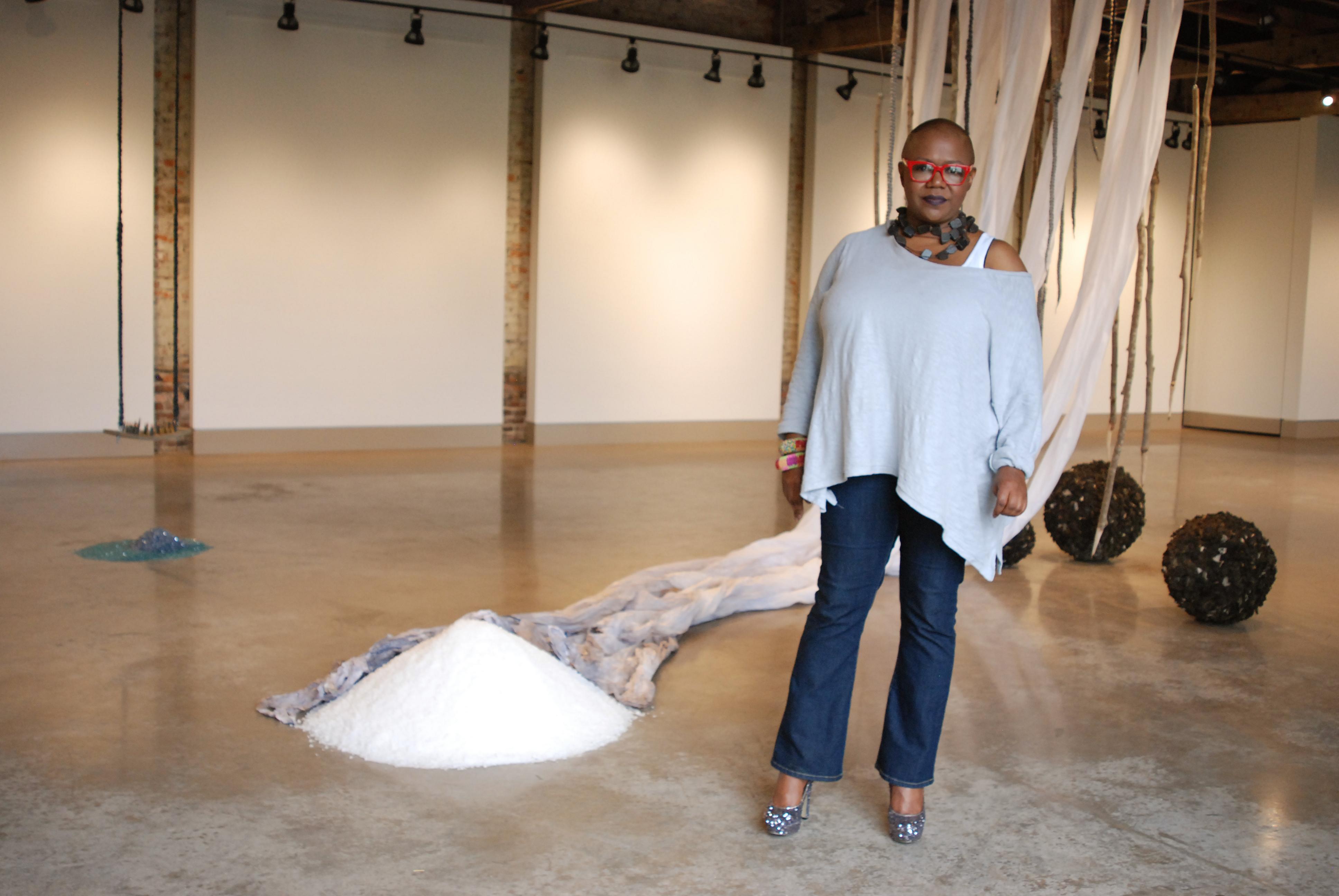 Portrait Jones Carter Gallery, 2015