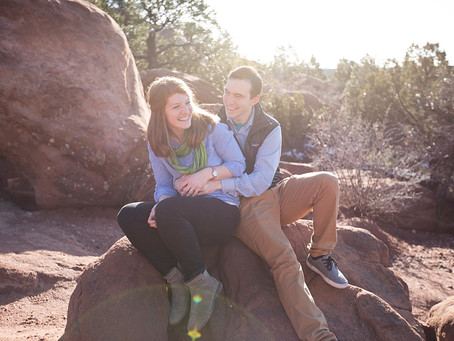 Garden of the Gods Anniversary Shoot  | Colorado Springs Photographer | RJ + Lauren