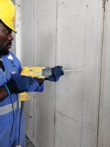 SAF Panels Install