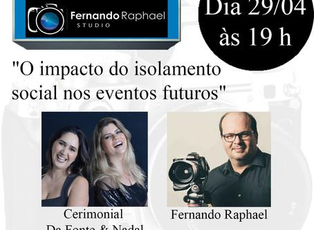 Dica Wedding Day: Live no Fernando Raphael Studio & Cerimonial Da Fonte & Nadal