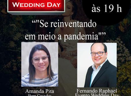 """Live: Fernando Raphael & Amanda Pita Bem Casados com o Tema: """"Se reinventando em meio a pandemia""""."""