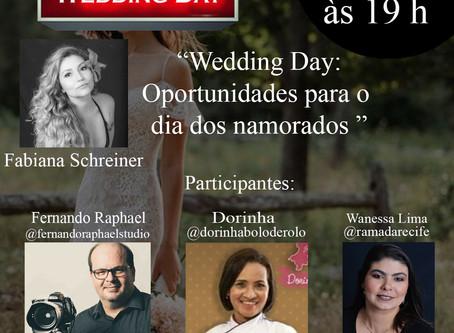 Live com Fabiana Schreiner, Fernando Raphael, Dorinha e Hotel Ramada para o dia dos namorados.