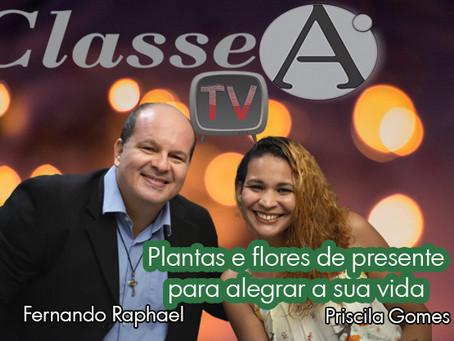 Plantas e flores de presente para alegrar a sua vida por Fernando Raphael & Priscila Gomes Risoflora