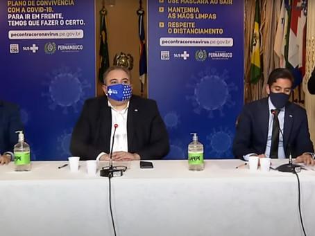Governo de Pernambuco, divulga a retomada do setor de eventos sociais
